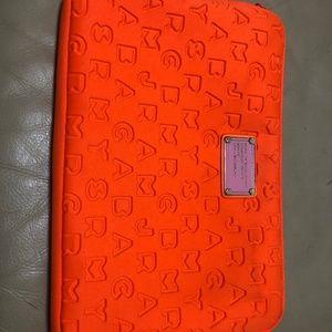 MARC by MARC JACOBS Orange Neoprene 11 Laptop Case